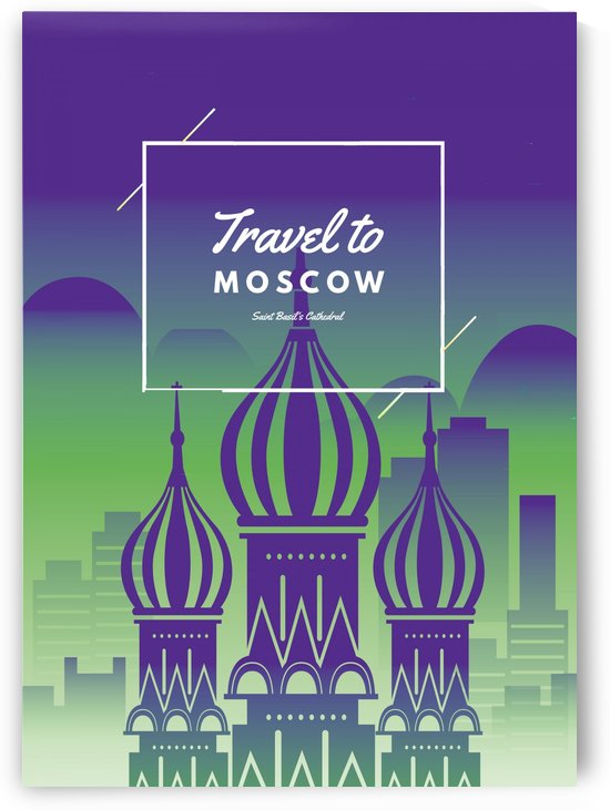Travel To Moscow by Gunawan Rb