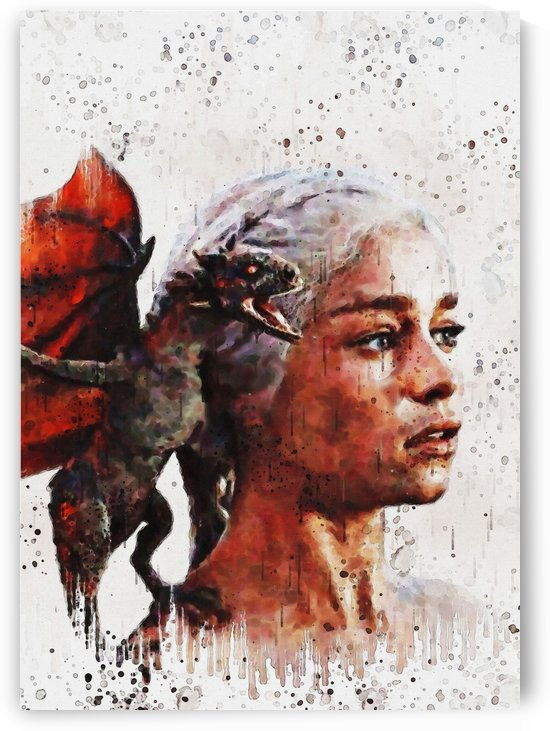 Daenerys and the dragons by Gunawan Rb
