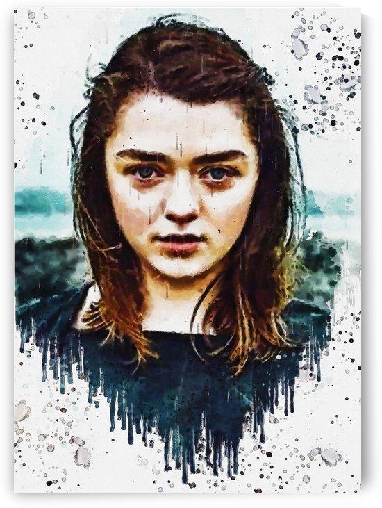 Arya Stark_ by Gunawan Rb