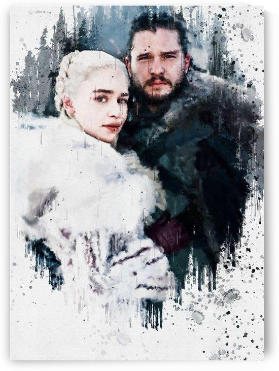 jon snow & daenerys 1 by Gunawan Rb
