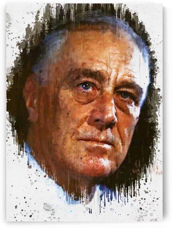 Franklin Delano Roosevelt_ by Gunawan Rb