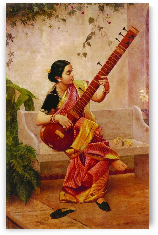 Kadambari by Raja Ravi Varma
