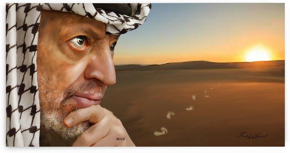 yasser arafat by fadel ayoub