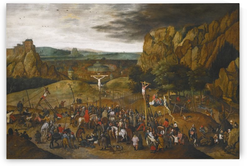 Crucifix by Pieter Brueghel the Younger