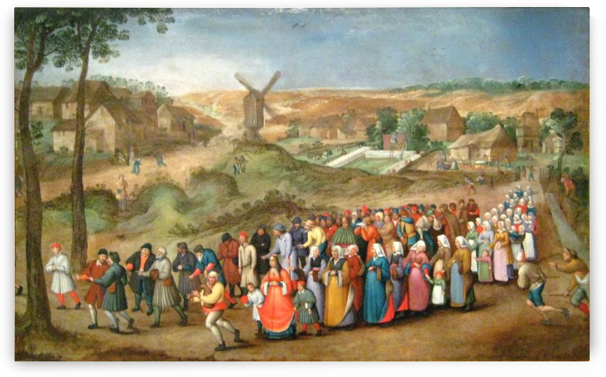 Circle of life by Pieter Brueghel the Younger