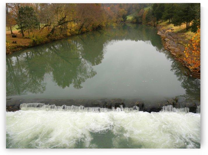 War Eagle River Reflections in Autumn by On da Raks