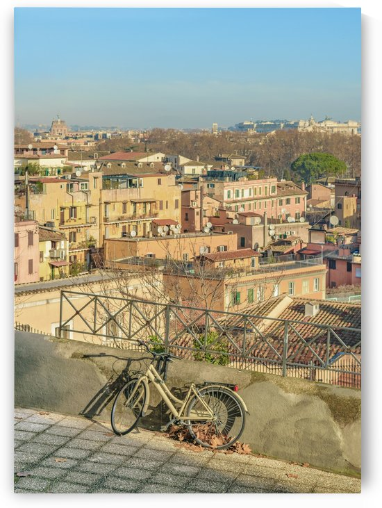 Gianicolo district Viewpoint, Rome, Italy by Daniel Ferreia Leites Ciccarino