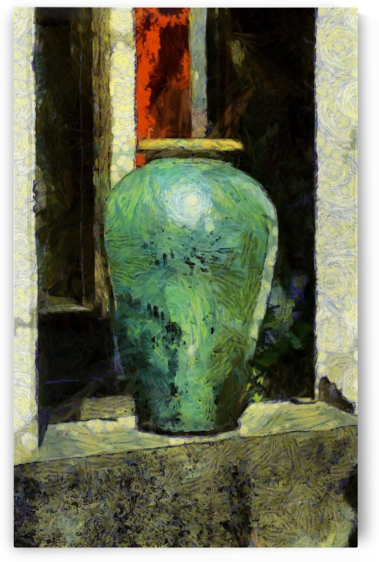 Vase on a Windowsill by Robert Knight