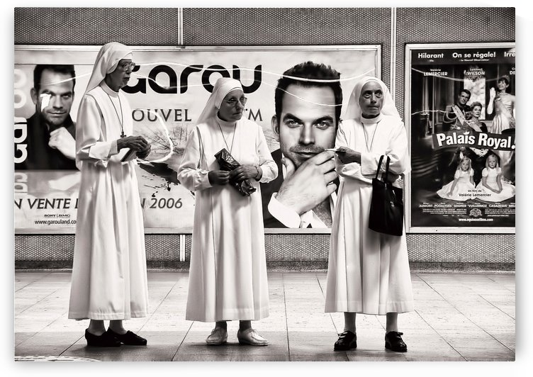 Three Nuns by Robert Knight