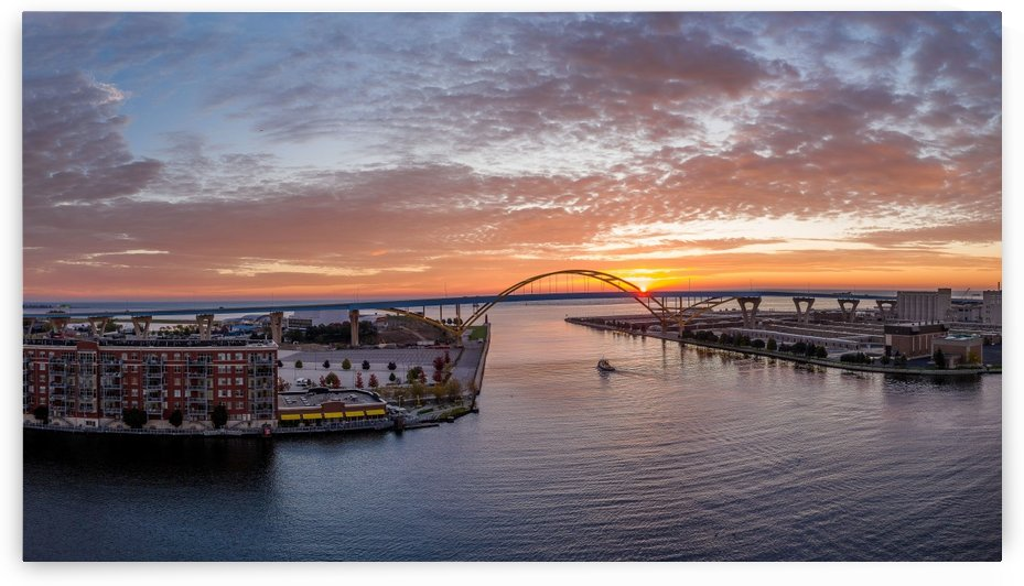 Sunrise Over Hoan by Aximagery Media