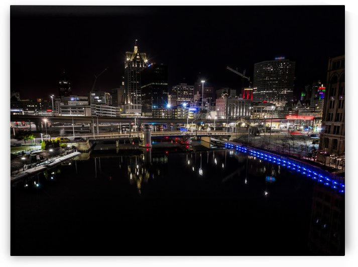 Milwaukee River of Glass by Aximagery Media