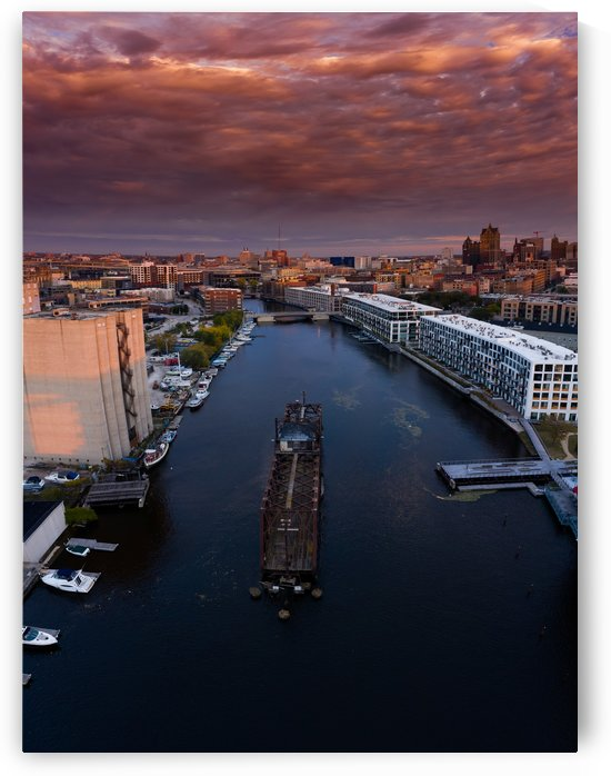 Milwaukee Floating Railway by Aximagery Media
