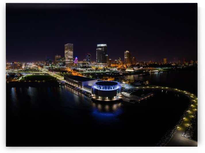 Milwaukee Circle of Lights by Aximagery Media