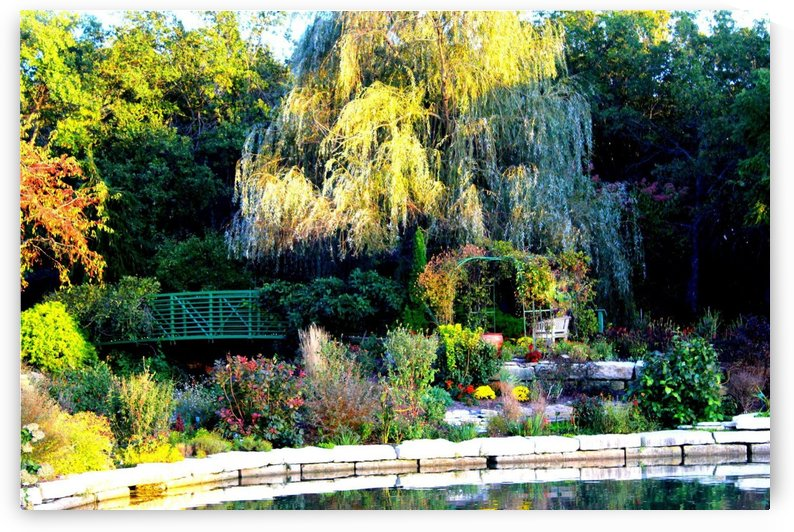 Reflections of a Monet Garden by Natures Alchemy Captured
