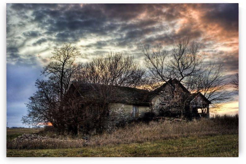 The Old Stone House by Ian Van Schepen