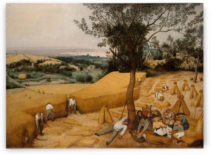 The Harvesters by Pieter Brueghel the Younger