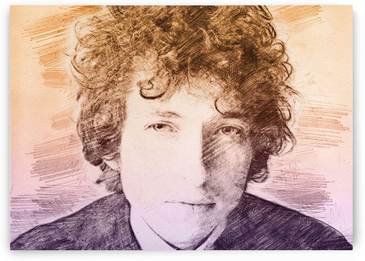 Bob Dylan by Gunawan Rb