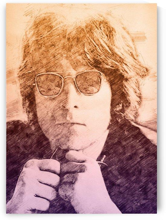 Jhon Lennon by Gunawan Rb