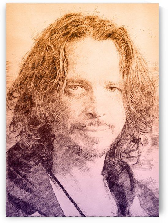 Chris Cornell by Gunawan Rb