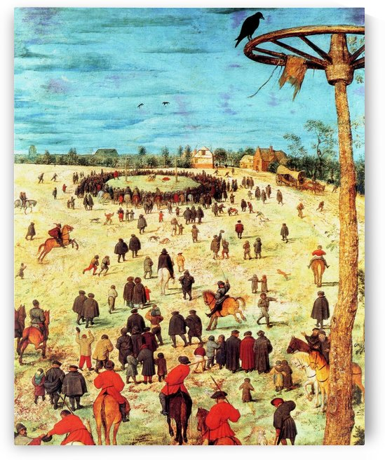 The Procession to Calvary by Pieter Brueghel the Younger