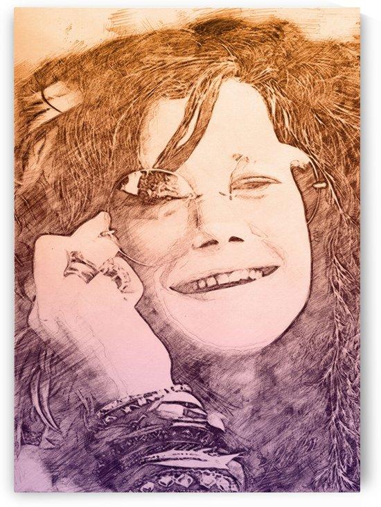 Janis Joplin by Gunawan Rb