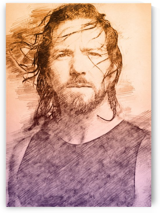 Eddie Vedder by Gunawan Rb