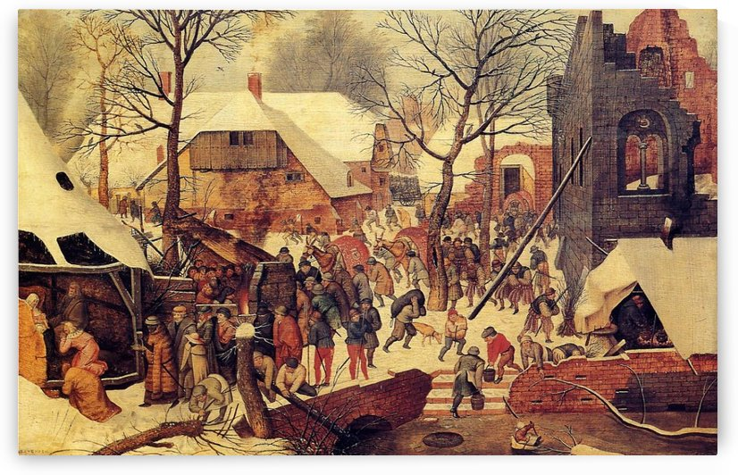 The Adoration of the Magi in the Snow by Pieter Brueghel the Younger
