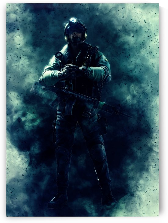 Geo Rainbow Six seige Character_ by Gunawan Rb