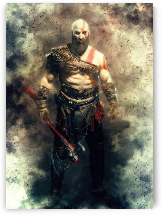 Kratos Immortality by Gunawan Rb