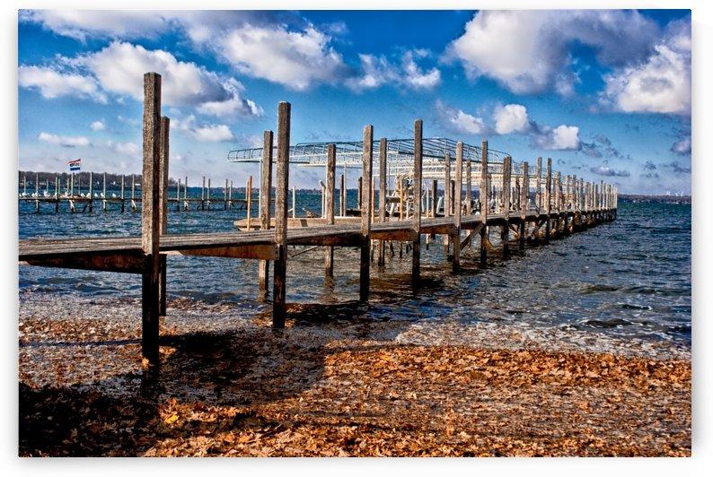 Autumn Dock by Ian Van Schepen