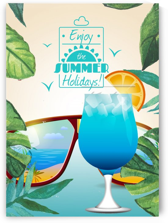 Enjoy The Summer Holiday with Blue Lagoon by Gunawan Rb
