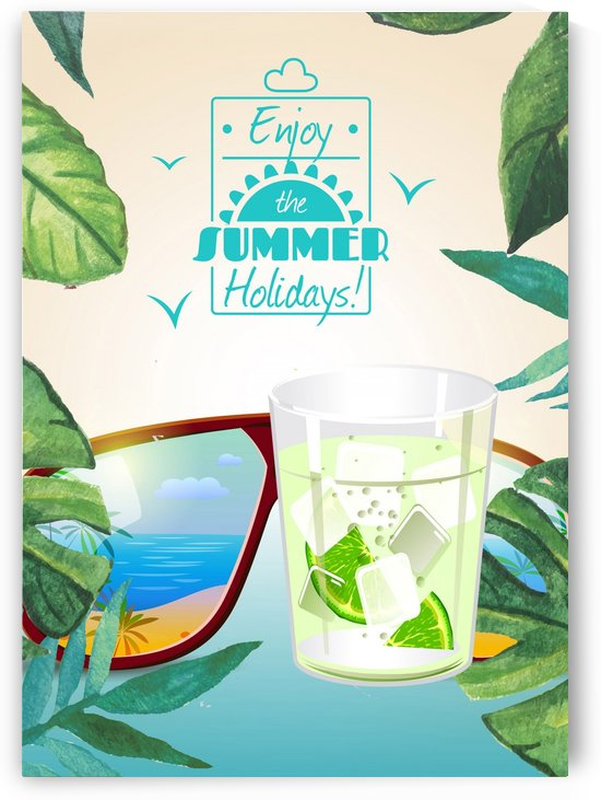 Enjoy The Summer Holiday with Caipirinha Cocktail by Gunawan Rb