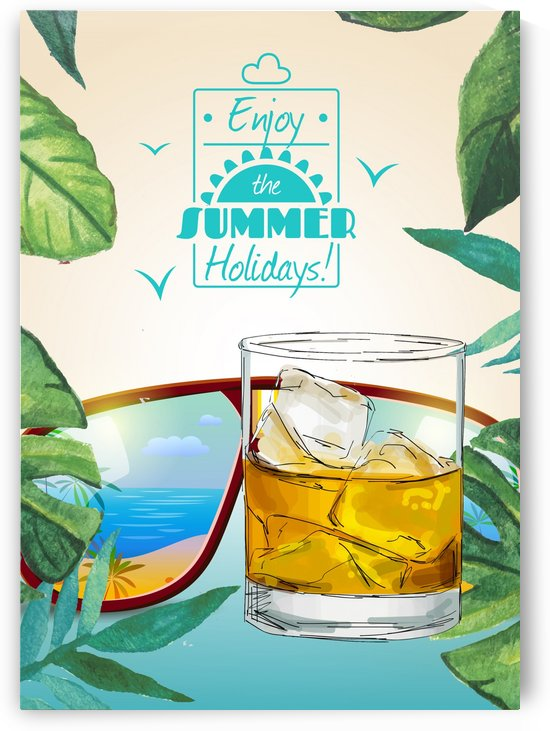 Enjoy The Summer Holiday with Negroni by Gunawan Rb
