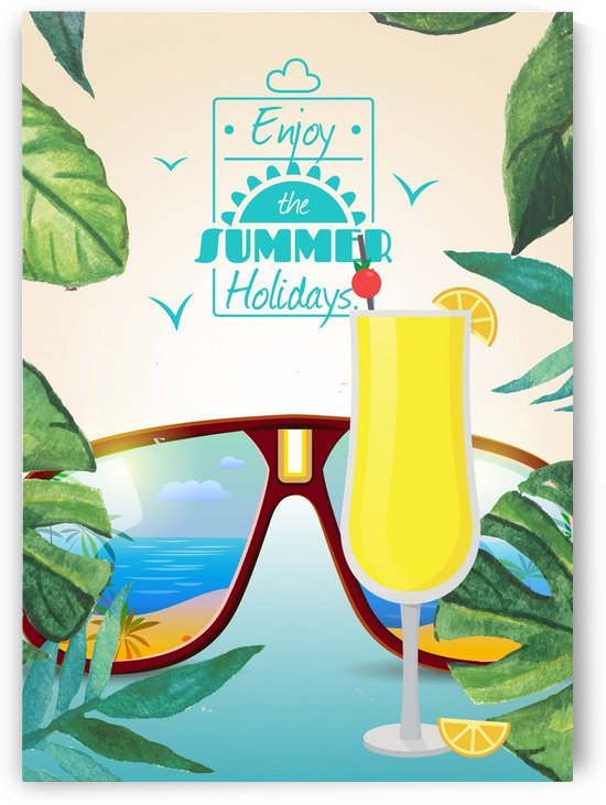 Enjoy The Summer Holiday with Mimosa by Gunawan Rb