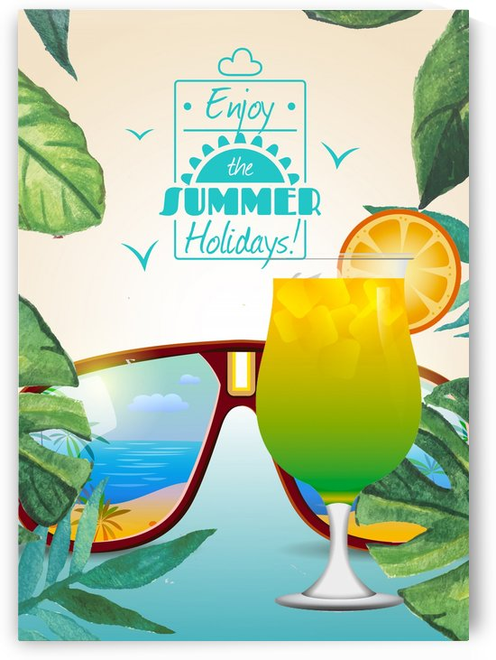 Enjoy The Summer Holiday with Citrus by Gunawan Rb