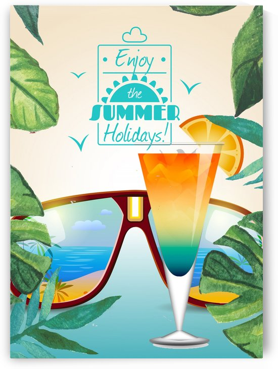 Enjoy The Summer Holiday with Dans Dewberry Martini by Gunawan Rb