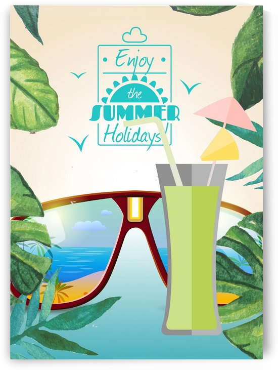Enjoy The Summer Holiday with Umbrella cocktail by Gunawan Rb