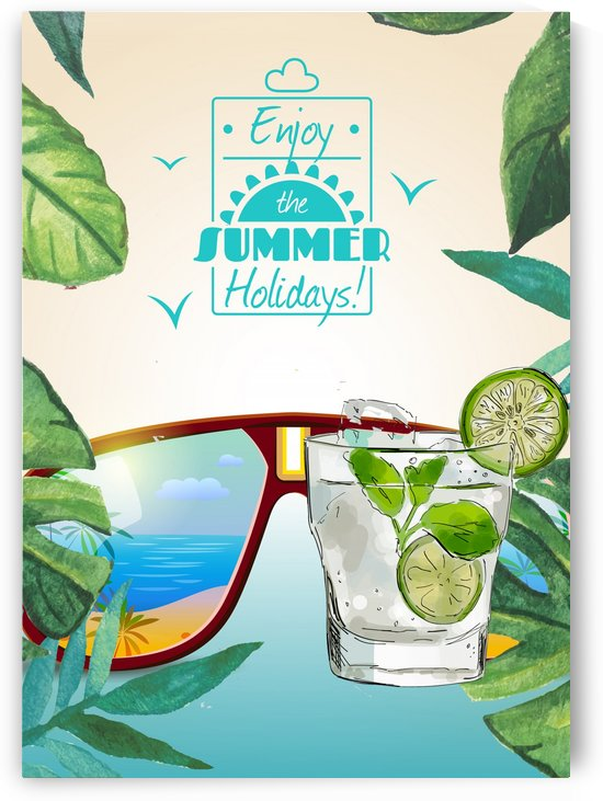 Enjoy The Summer Holiday with Mocktail by Gunawan Rb