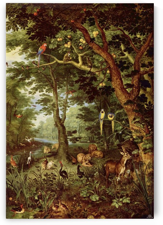 Paradise by Pieter Brueghel the Younger