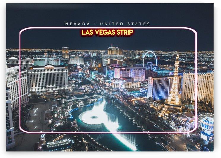 Las Vegas Strip   Nevada   United States by Gunawan Rb