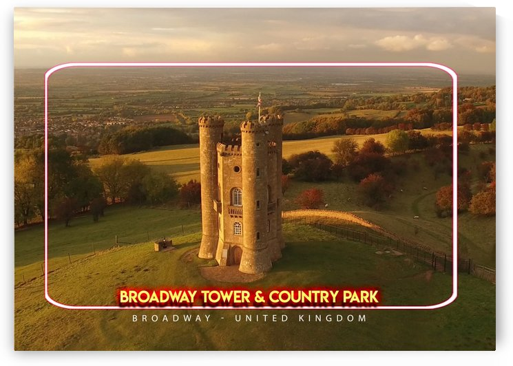 Broadway Tower & Country Park, Broadway, United Kingdom by Gunawan Rb