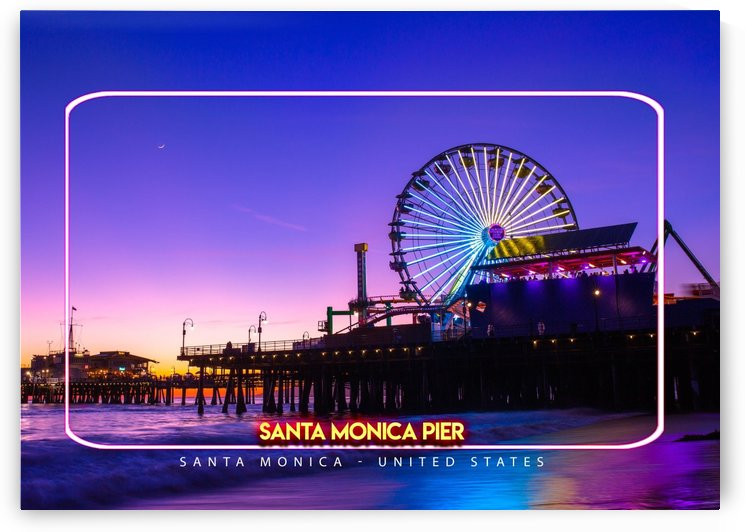 Santa Monica Pier, Santa Monica, United States by Gunawan Rb