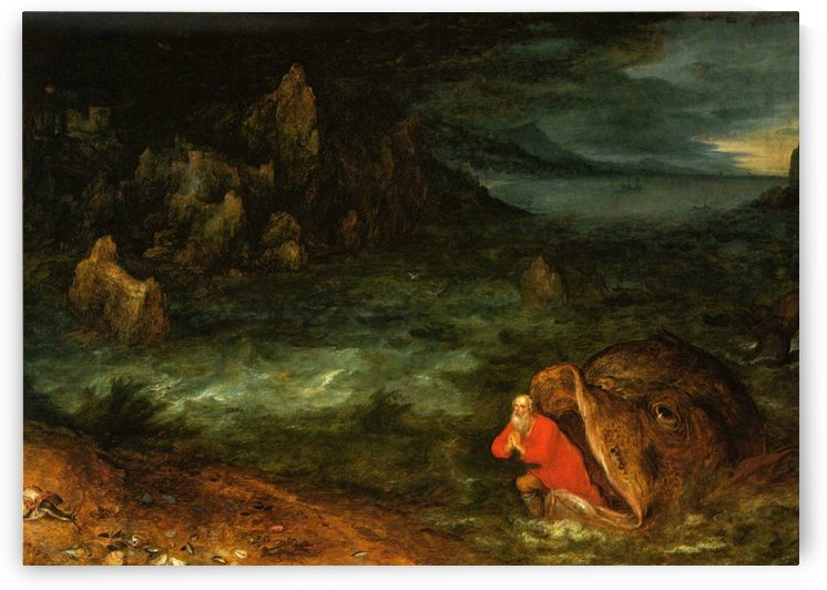 Jonah Leaving The Whale by Pieter Brueghel the Elder