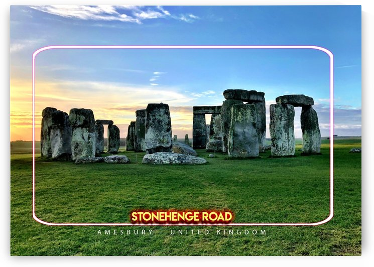 Stonehenge Road, Amesbury, United Kingdom by Gunawan Rb