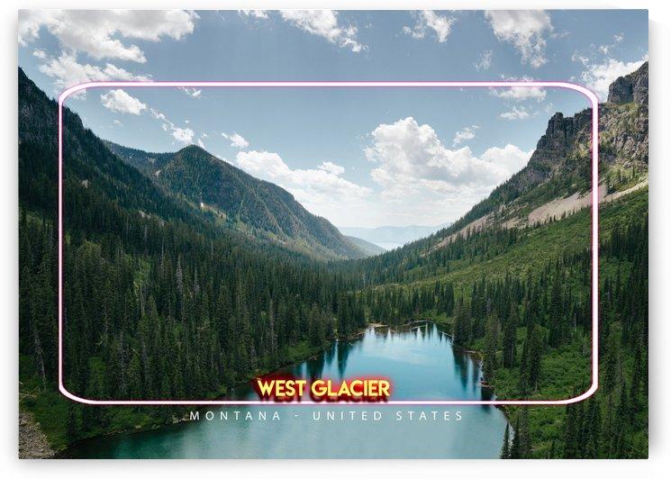 West Glacier, Montana   United States by Gunawan Rb
