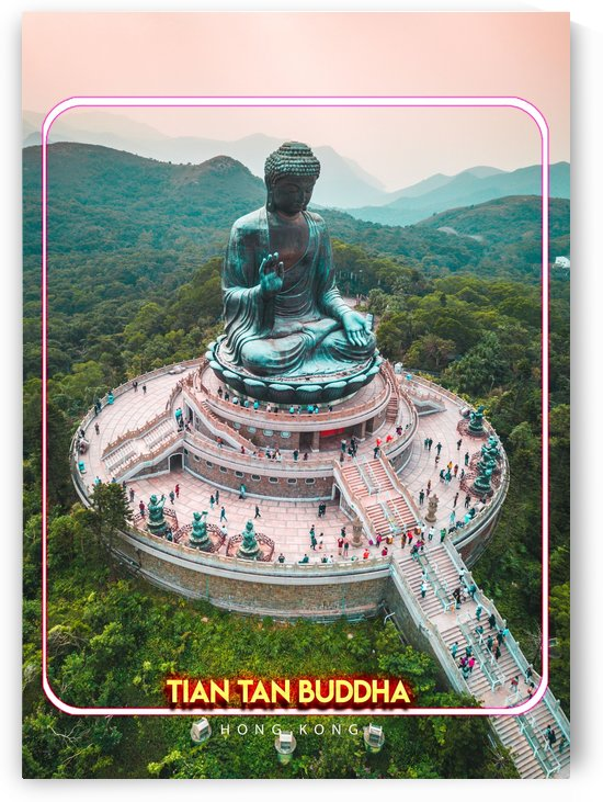Tian Tan Buddha, Hong Kong by Gunawan Rb