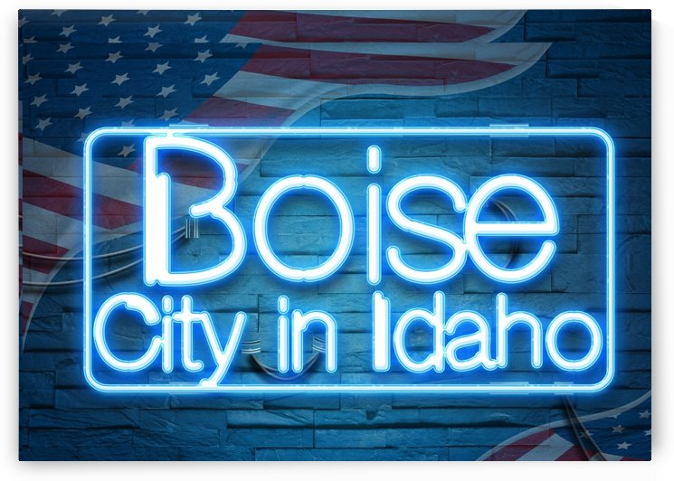 Boise City in Idaho by Gunawan Rb