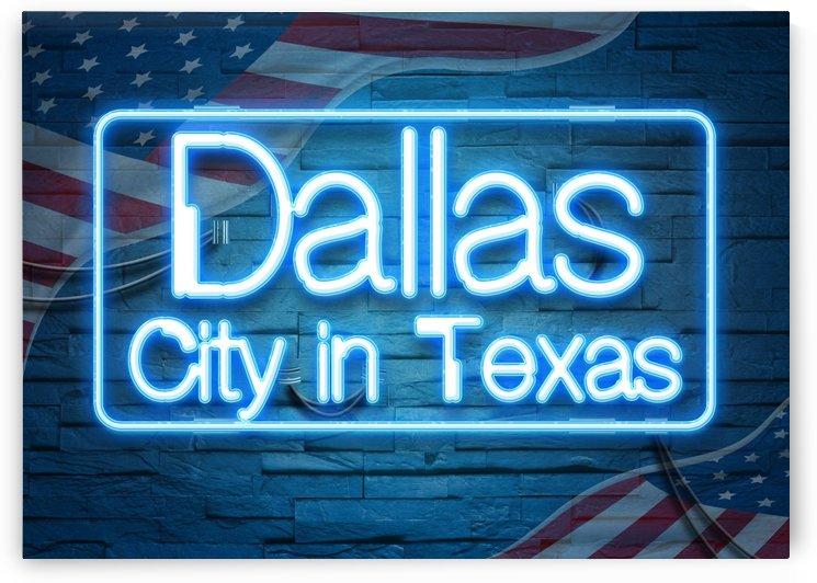 Dallas City in Texas by Gunawan Rb
