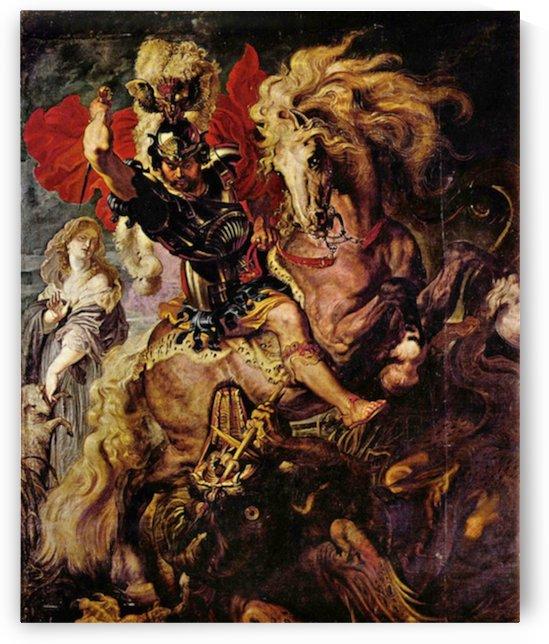 Battle detail by Rubens by Rubens