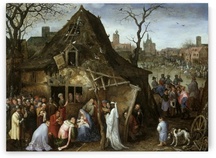 The Adoration of the Kings by Pieter Brueghel the Elder
